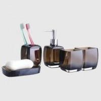 Набор для в/к дозатор, мыльница, 2 стакана, подст. д/з.сч. HB301-2