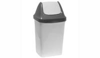Контейнер д/мусора  9,0л  Свинг (мраморный) М2461 (Россия)