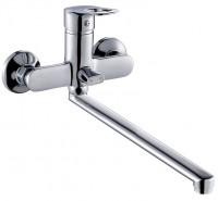 Смеситель ZOLLEN ZEVEN (арт. ZE62610941) для ванной длинный излив 350 мм,с аксес